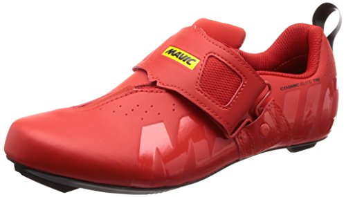 MAVIC Cosmic Elite Tri Triathlon Rennrad Fahrrad Schuhe rot 2019: Größe: 44.5 (Fahrräder Triathlon)