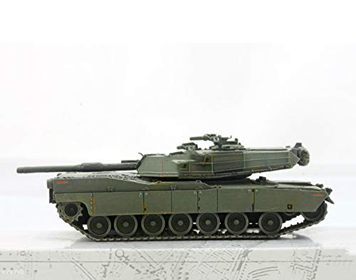 EP-model Modellspielzeug, Zweiter Weltkrieg Arms American M1 Abrams Abrams Hauptkampfpanzer Modell, Vintage Military Dekorative Souvenirs (Abrams Model M1)