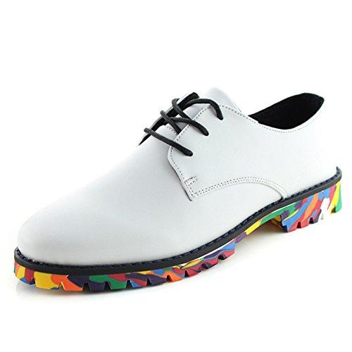 Estate bassa business casual scarpe/Inghilterra-scarpe uomo Bianco