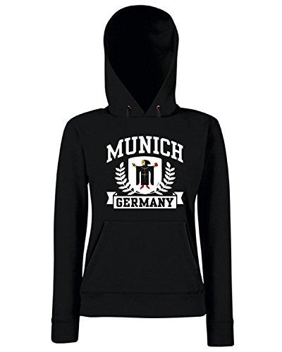 T-Shirtshock - Sweats a capuche Femme TSTEM0191 munich germany Noir