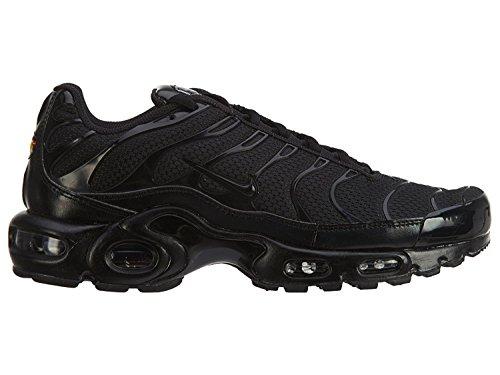 Nike Air Max Plus, Sneakers Basses Homme, Noir (Black/Black-Black 050), 42.5 EU