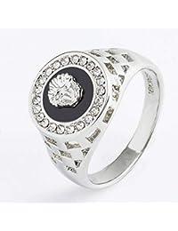 4cfa9c1b9424 Golden flower Cabeza de Joyería Diamond Anillo de Hombres de Gota de  Diamante Vacío Anillo de Cabeza