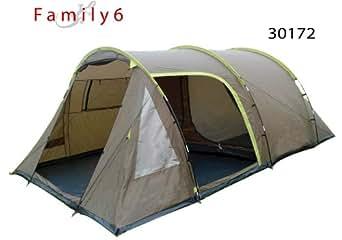 Family 6-Tentes dôme familiale 6 / 8 places - tente de camping familiale tunnel