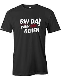 Bin da kann los gehen - Herren T-Shirt
