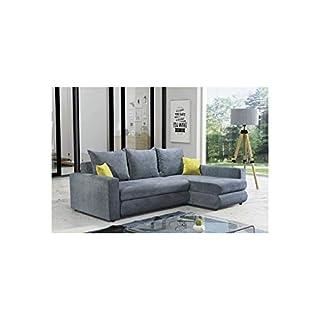 HTI-Living Polstergarnitur Benito Ecksofa, Couch, Sofa, 234 x 172 cm Grau