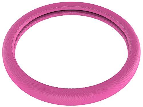 Lenkradbezug Pink | Lenkrad Bezug Rosa | Ø 37cm - 39cm | Auto Innenraum Zubehör | Optik Tuning | Nützliche Gadgets für Männer und...