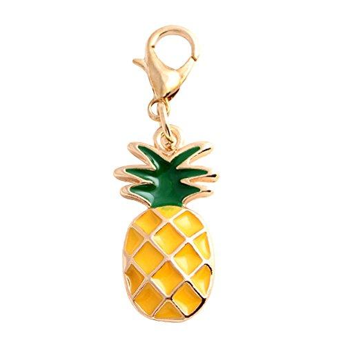 Ananas Key Anhänger Charms Verschluss Handtasche Schlüsselanhänger Auto Schlüsselanhänger Multi ()