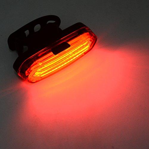 Thinkmax 16LED USB wiederaufladbar Fahrrad Rücklicht Rot (Automatische Top-off-system)