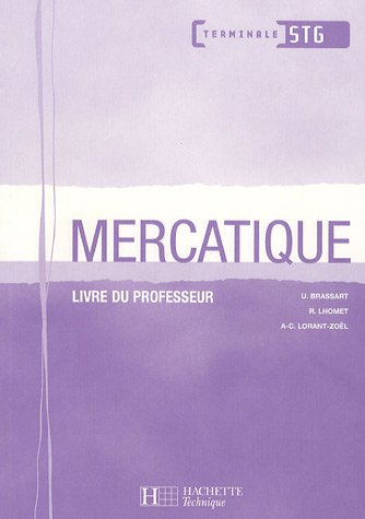 Mercatique : Livre du professeur