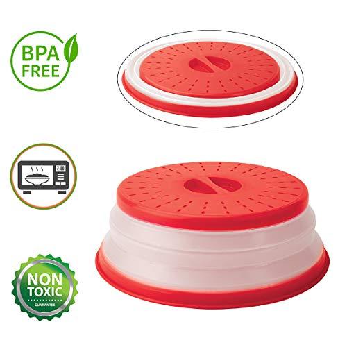 ANTEER Tapa Microondas Plegable Ventilación Plastico