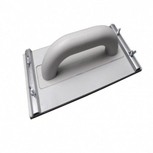 Frottoir Kunststoff (PS) Netzteil für Schleifbürste Frottoir mit gezahnten Greifbacken, 270 x 130 mm