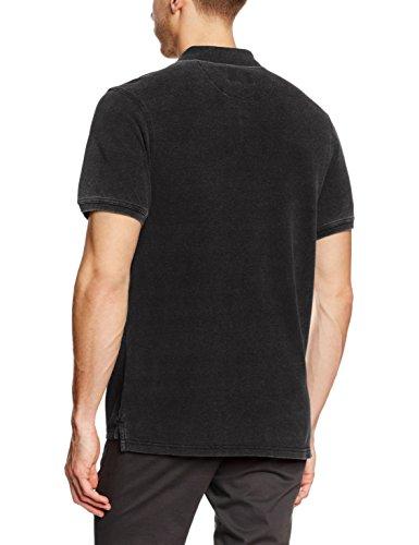 James Harvest Herren Polo-Hemden Fordham Black (black Denim)