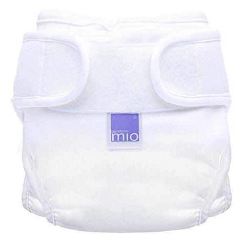 Bambino Mio, miosoft windelüberhose, weiss, Größe 1 (<9kg)