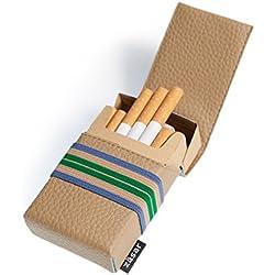 FLAPCASE N°1 Chroma•Edition Polo - Premium Design Porte-Cigarettes, Combinaisons de Couleurs captivant, très branché, Fait à la Main en Autriche, Plus Haute qualité, étui à 20 Cigarettes Standard