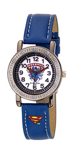 Superman Kinder-Armbanduhr Analog Quarz Blau BS54400-113