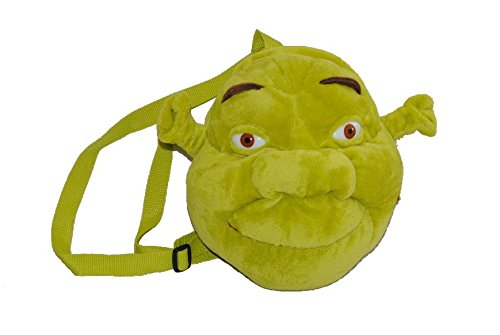 3-D Shrek Rucksack - Plüsch Kinderrucksack Kinder Kindergartenrucksack Plüschtier Oger Shrek Rucksack
