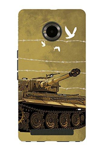 Kaira brand Designer Back Case Cover for Micromax YU Yuphoria (Tank)