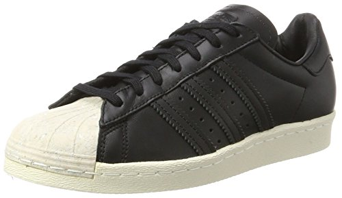 adidas Superstar 80S Cork, Scarpe da Ginnastica Basse Donna, Nero Core Black/off White, 37 1/3 EU