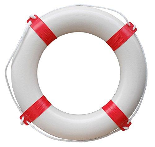 Prowake Rettungsring mit Sicherheitsleine Farbe: Rot