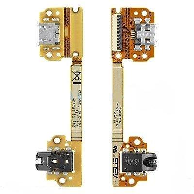 1st Gen Ersatz 2012 ME370T Ladegerät Ladestation Dock Connector Flex Kabel USB Port mit Klinkenstecker Flachbandkabel Ersatzteil ()