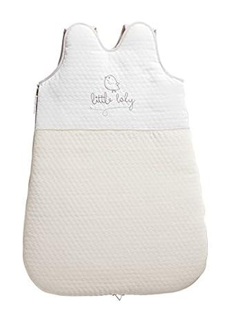 Petit Praia PIU Limited Edition PIU Limited Edition Kleine Schlafsack ohne Ärmel Weiß/Beige 65cm