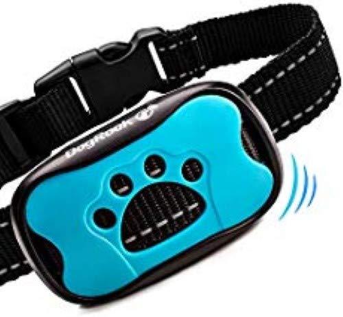 DogRook Hundehalsband für Bellen, Humanes, Anti-Bell-Trainingshalsband - Vibration, kein Schock, verhindert Bellen, für kleine, mittelgroße und große Hunde -