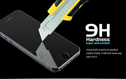 M.G.R Gionee Elife S5.5 Tempered Glass Screen Protector, Premium 2.5D Round Edge 9H Hardness 0.3mm Thickness HD Clear Ballistic Film