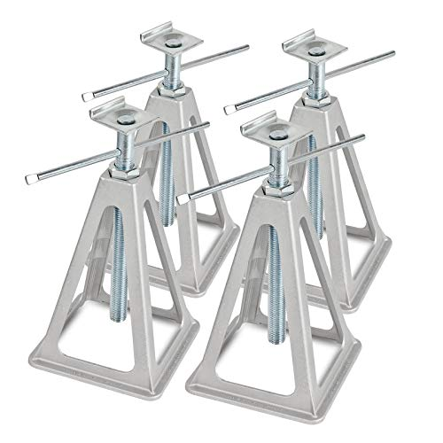 Alu Stützbock Set | L-Profil | 1000Kg Tragkraft | 42cm Höhe | L-Aufnahme (4)