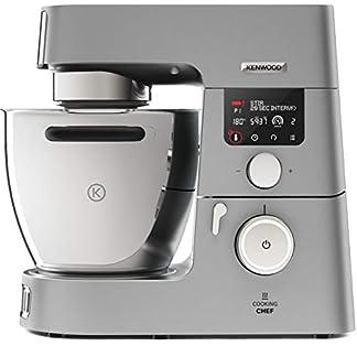 Kenwood-Cooking-Chef-Gourmet-KCC9040S–Kchenmaschine-mit-Kochfunktion-Induktionskochfeld-von-20-180C-24-voreingestellte-Programme-67-l-Rhrschssel-1500-W-inkl-7-teiligem-Set-silber