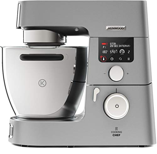 Kenwood Cooking Chef Gourmet Küchenmaschine, 1.500 W, Induktion 20-180°C, 6,7 l Füllmenge