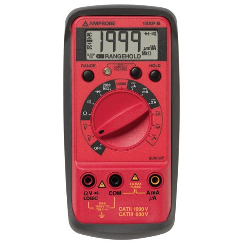 AMPROBE 15XP-B Kompaktes Digital-Multimeter und Logik-Test 2000 Die Digitale Bank