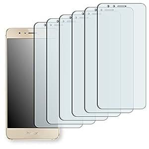 GOLEBO 6 x Crystal Pellicola Protettiva per Huawei Honor 8 - (Trasparente, Montaggio Molto Facile, Rimovibile Senza residui Adesivi)