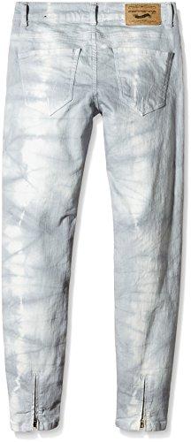 Fornarina Damen Jeanshose Bambi Grau (grau batik GD)