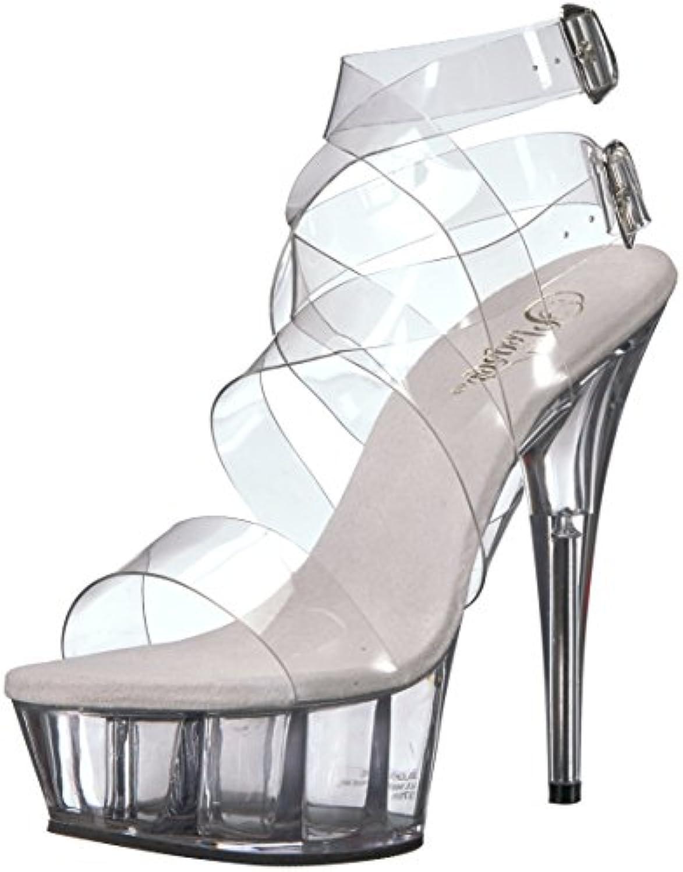 ec5f3b417757 Gentleman Lady Pleaser Pleaser Pleaser Women s Delight-635 Sandal  B071H81TGY Parent Diverse new design