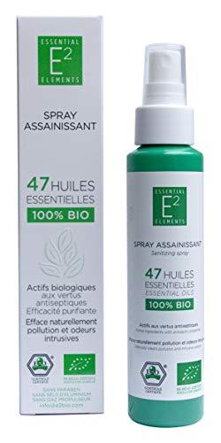 Reinigender Komplex 47 Ätherischen Ölen 100% Organisch Raumspray VEGAN (100ml) - Komplexe Spray