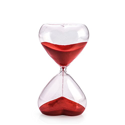 pajoma Sanduhr Red Love, 30 min, Höhe 19,5 cm