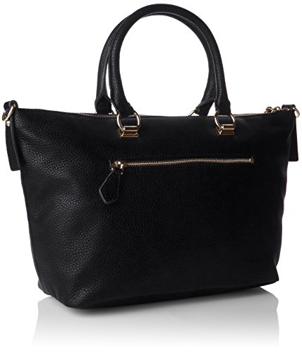Guess Korry Crush Satchel, Sacs à Main Femme, Taille Unique Noir (Nero)