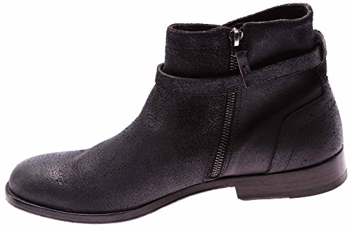 mens-shoes-ankle-boots-dirk-bikkembergs-786-graduate-vintage-leather-black-new