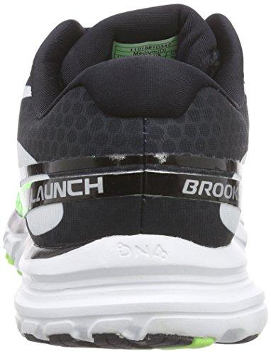 Brooks Launch 2, Chaussures de course homme Vert - Grün (BriteGreen/Black/White)