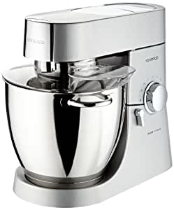Kenwood KMM020 Robot Ménager Major Titanium - 1500W - 6.7 L - Inox Satiné