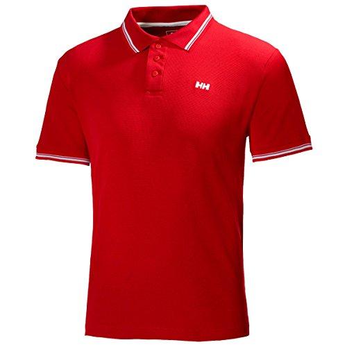 Helly Hansen Herren Polo Kos Short Sleeve Rot - Rot
