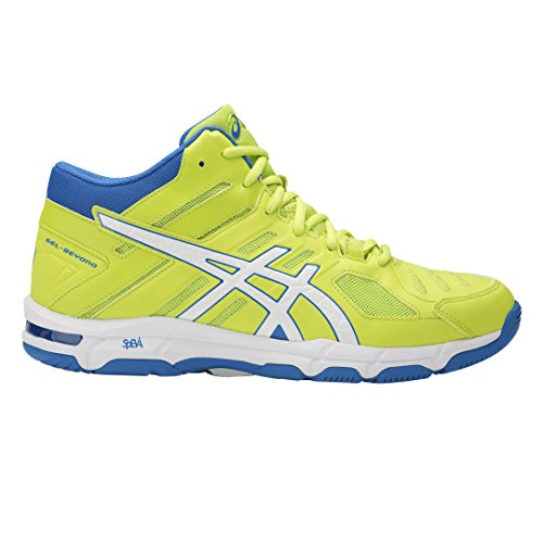 Asics Gel-Beyond 5 Mt, Scarpe da Pallavolo Uomo Multicolore (Energy Green/White/Electric Blue)
