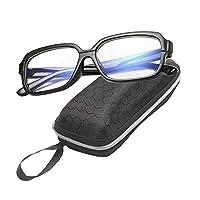 e0b7f5e19 نظارة للجنسين للتلفزيون وأجهزة الكمبيوتر إطار خاص بالألعاب نظارات شفافة  مطلية باللون الأزرق مضادة للإنعكاس وعدسات