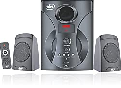 BIPL 2.1 Multimedia Home Theater System,Black