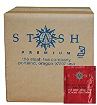 Stash Tea Double Spice Chai Black Tea, 100 Count Box of Tea Bags in Foil