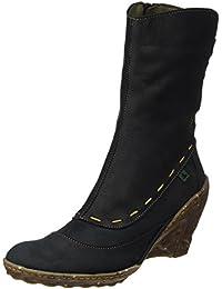 El Naturalista Damen N485 Pleasant Black/Ambar Kurzschaft Stiefel