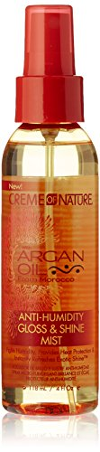 Creme of Nature Baume-Spray Brillance Anti-Frisottis à l'Huile d'Argan du Maroc 118ml