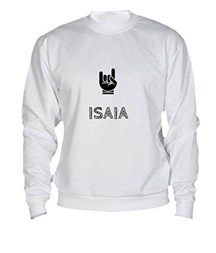 sweatshirt-isaia-print-your-name-white