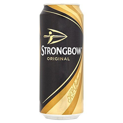 Strongbow Ursprüngliche 500ml (Packung mit 24 x 500 ml)