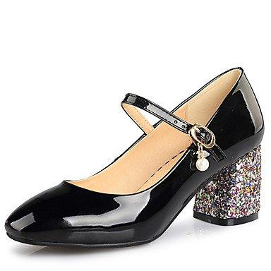 Zormey Frauen Schuhe Ferse Quadratische Spitze Schnalle Pumpe Mehr Farbe Verfügbar US6 / EU36 / UK4 / CN36
